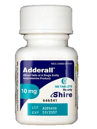 Adderall equivalent of 40 mg vyvanse