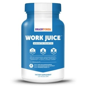 Work Juice, Brain Forza's Work Juice, Brain Pill Reviews, Best Nootropic Reviews