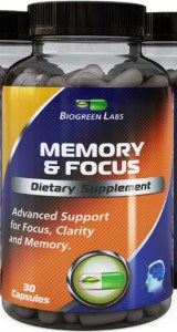 biogreenlabs, Memory & Focus, Brain Pill Reviews, Biogreen Labs Review